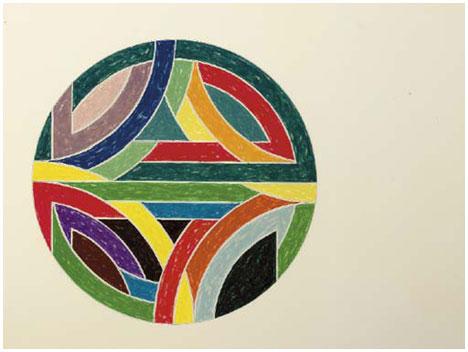 Sinjerli Variation IV, 1977 - Frank Stella