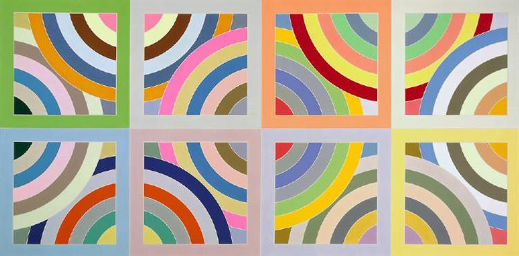 Tahkt-I-Sulayman Variation II, 1969 - Frank Stella