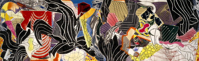 The Fountain, 1992 - Frank Stella