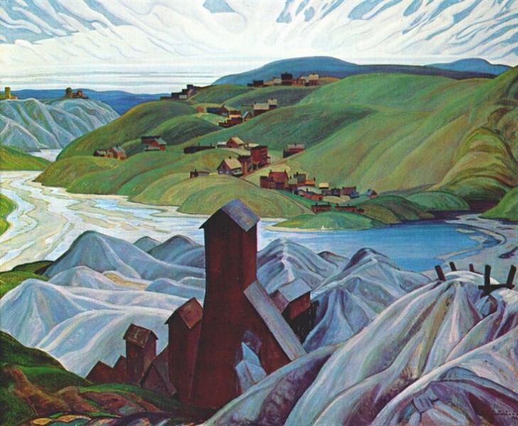 A Northern Silver Mine, 1930 - Франклин Кармайкл