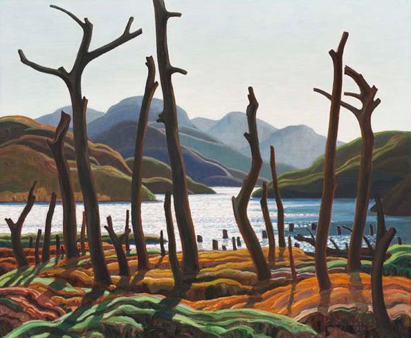 Cranberry Lake, 1938 - Franklin Carmichael