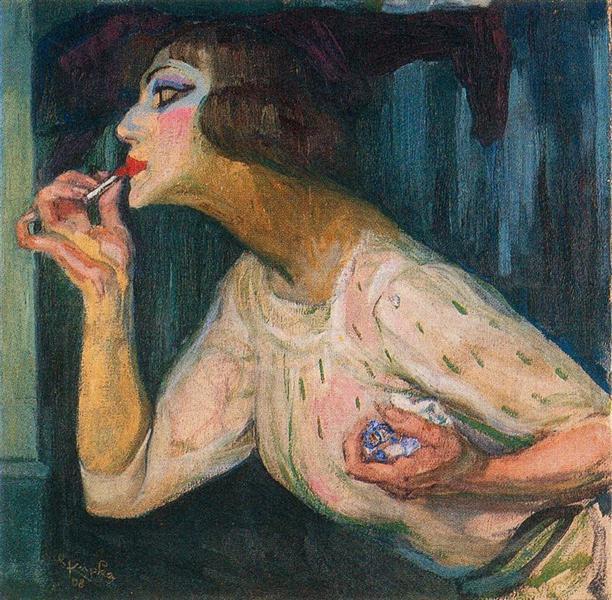Lipstick, 1908 - Франтишек Купка
