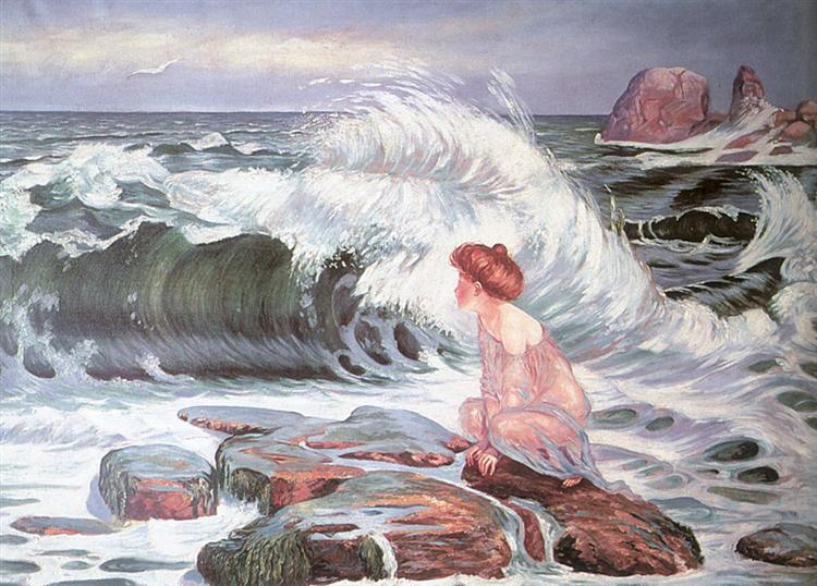 The Wave, 1902 - Frantisek Kupka
