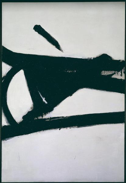 Accent Grave, 1955 - Franz Kline