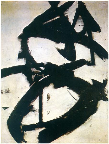 Figure Eight -, 1952 - Franz Kline