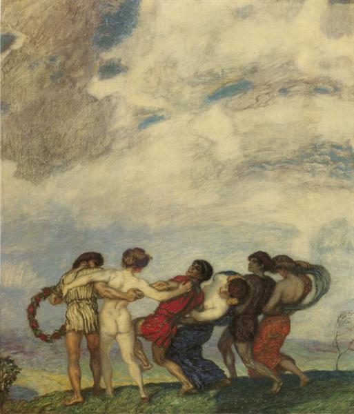 Spring Dance, 1909 - Franz Stuck