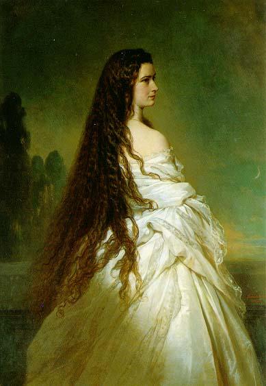 Elisabeth Kaiserin von Österreich, 1865 - Franz Xaver Winterhalter