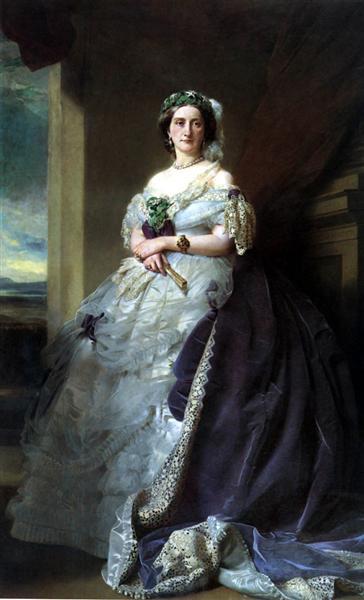 Portrait of Lady Middleton, 1863 - Franz Xaver Winterhalter