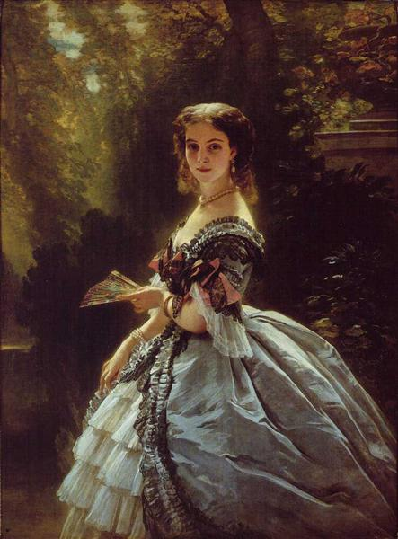 Princess Elizabeth Esperovna Belosselsky, 1859 - Franz Xaver Winterhalter