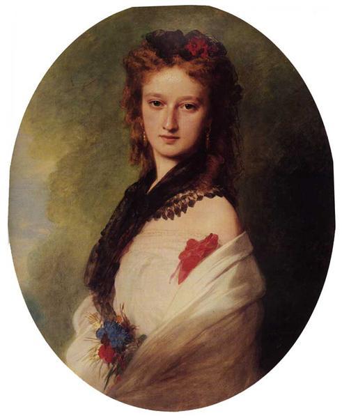 Zofia Potocka, Countess Zamoyska, 1870 - Franz Xaver Winterhalter