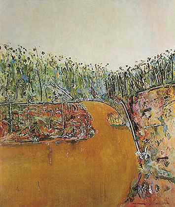 Landscape with Goose, 1974 - Fred Williams