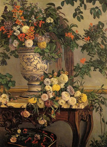 Frédéric Bazille - Page 3 Flowers-1868.jpg!Large