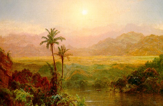 In the Andes, 1878 - Frederic Edwin Church