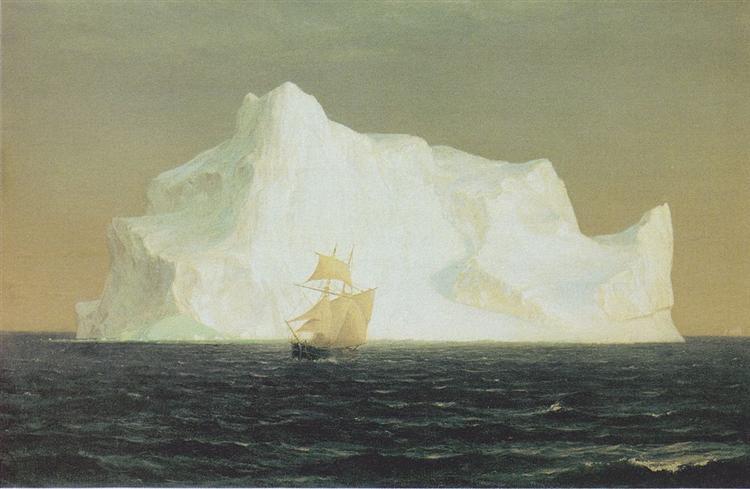The iceberg - Frederic Edwin Church