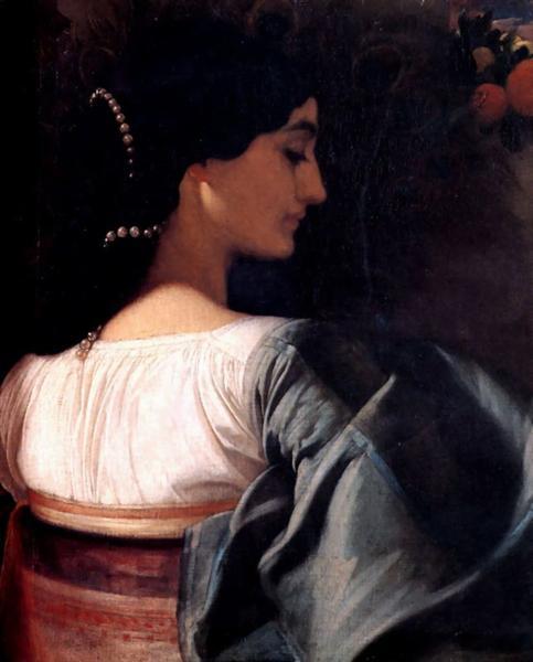 An Italian Lady, 1859 - Фредерик Лейтон