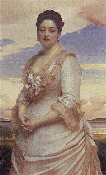 Hannah de Rothschild - Frederic Leighton, 1. Baron Leighton