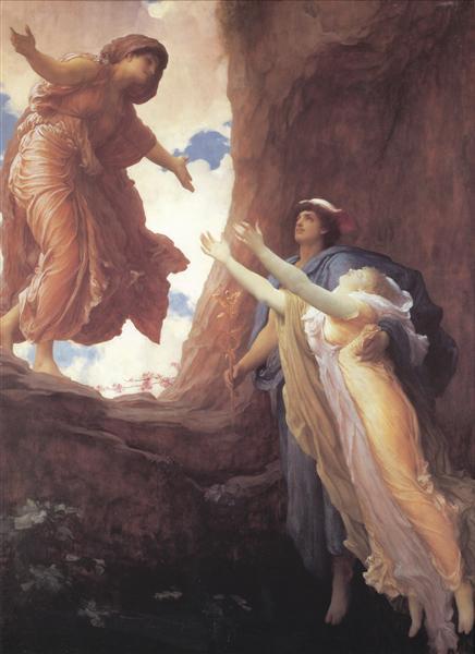 Return of Persephone - Frederic Leighton