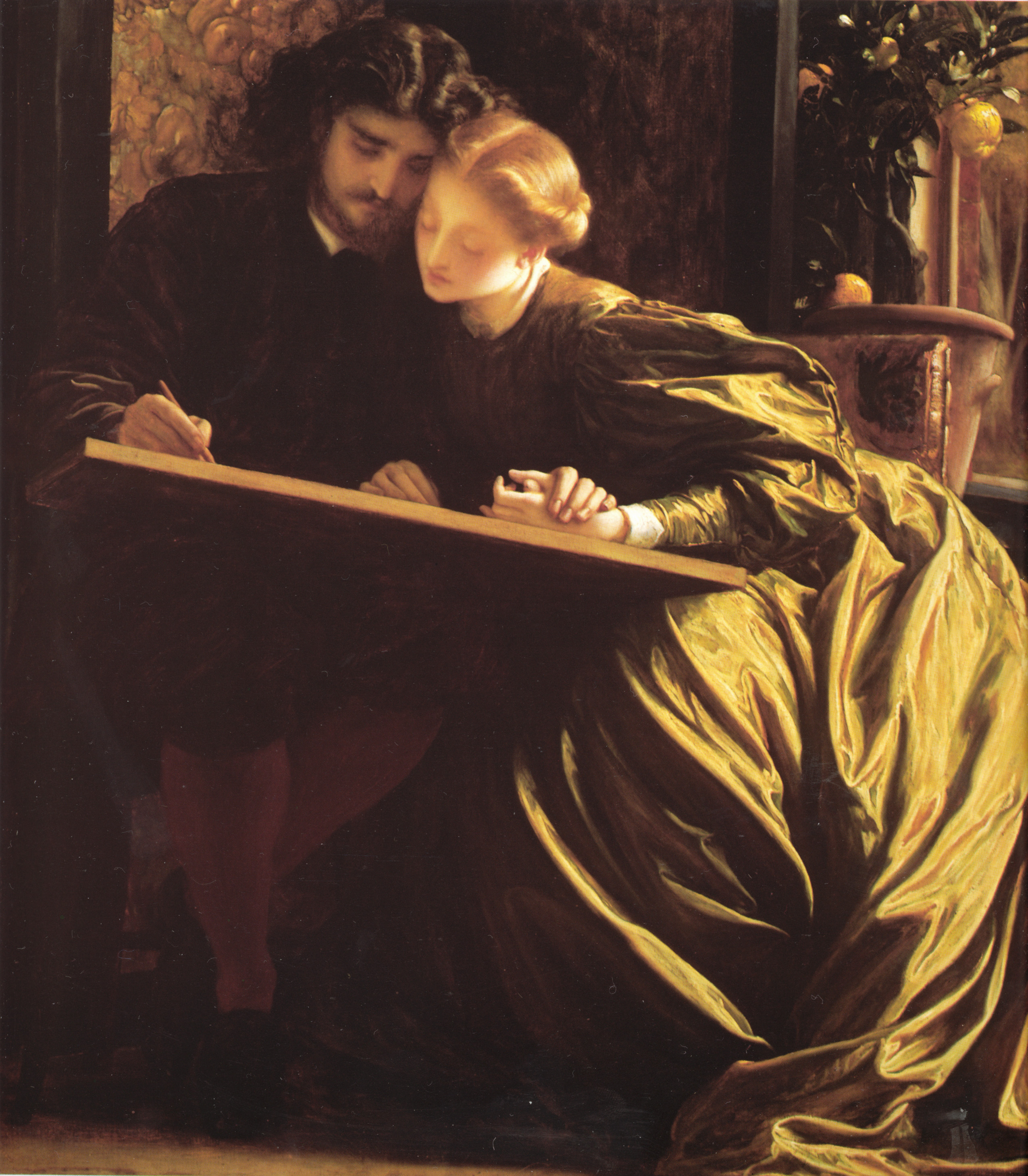 The Painter's Honeymoon by Frederic Leighton, circa 1864