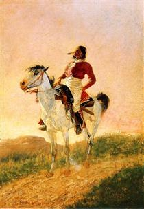 Modern Comanche - Фредерик Ремингтон