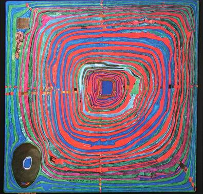 224 The Big Way, 1955 - Friedensreich Hundertwasser
