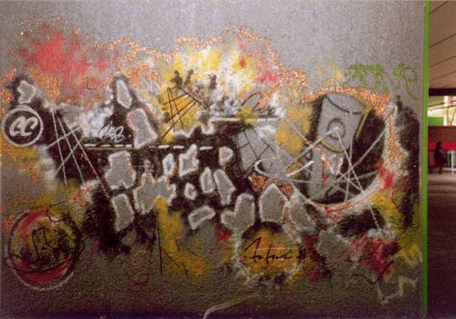 Wall, 1982 - Futura 2000