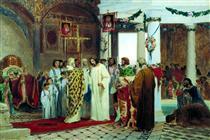 Baptism of Prince Vladimir - Fyodor Bronnikov