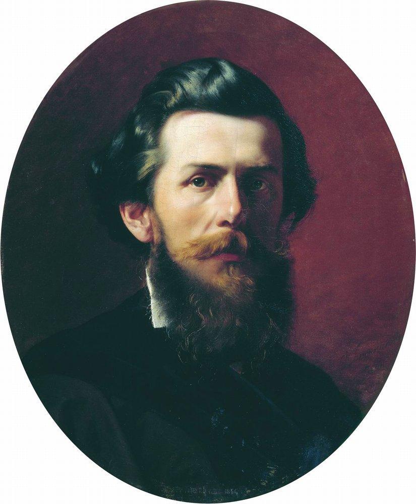 Portrait of A.P. Bogoliubov, 1856