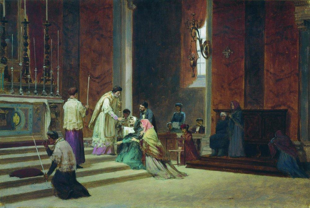 The Catholic Mass, 1869