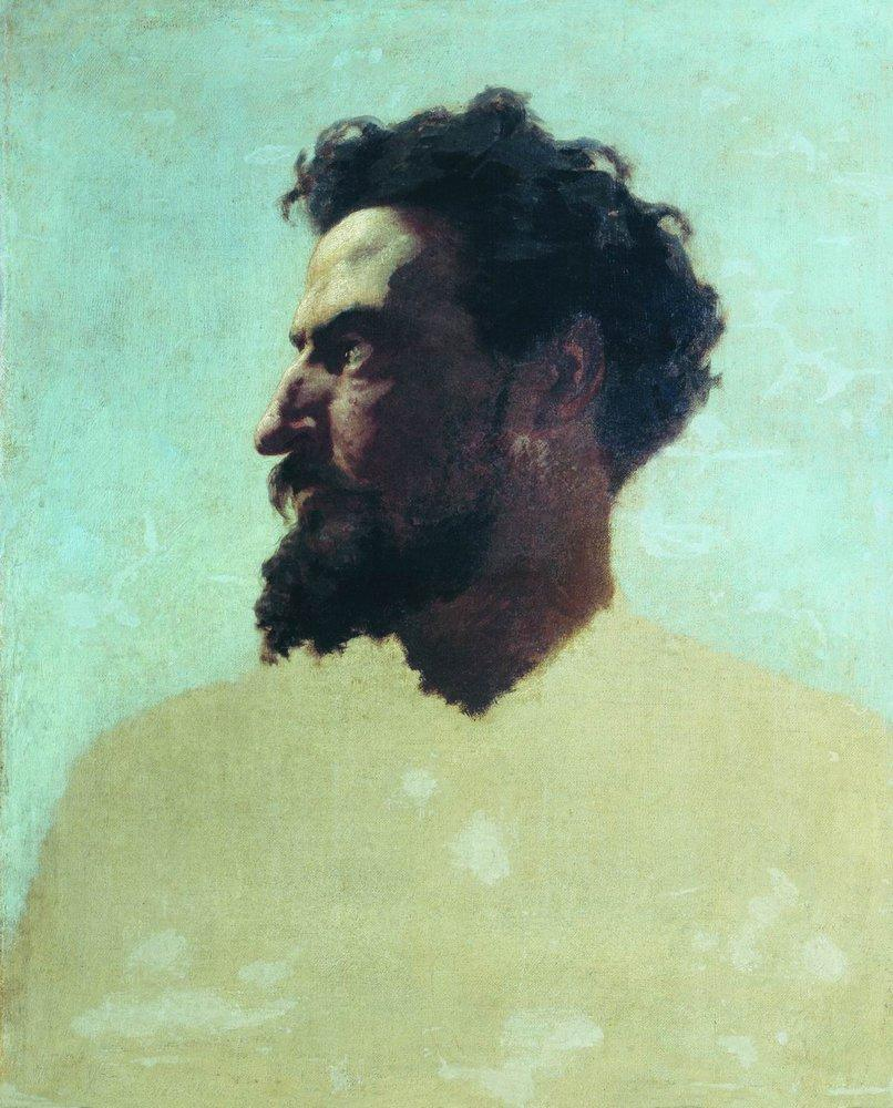 The head of Judas, 1874