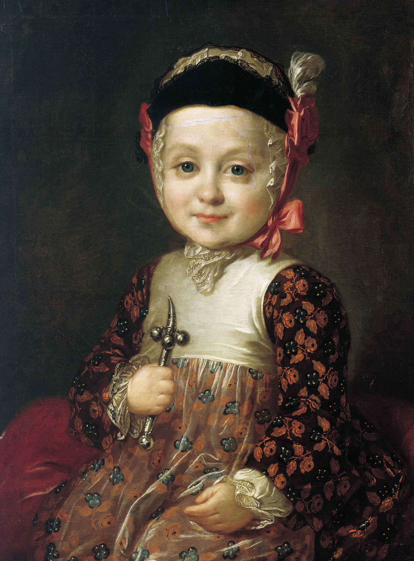 Portrait of Count Alexey Bobrinsky as a Child, 1760