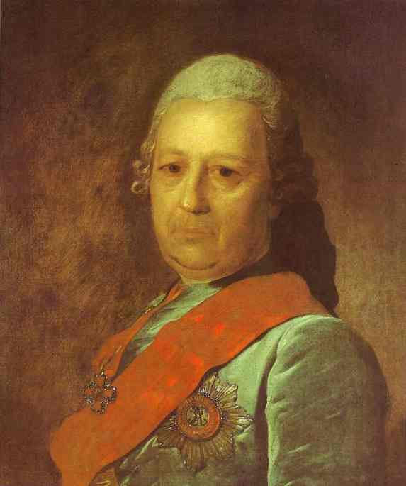 Portrait of A.M.Obreskov, 1777