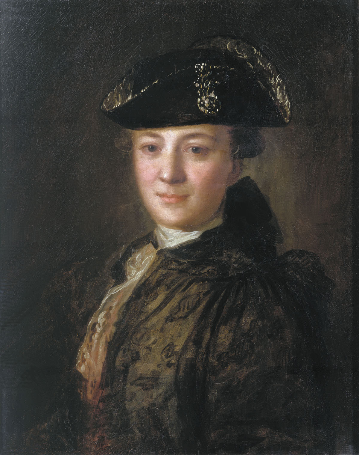 Portrait of an Unknown Man in a Cocked Hat, 1770