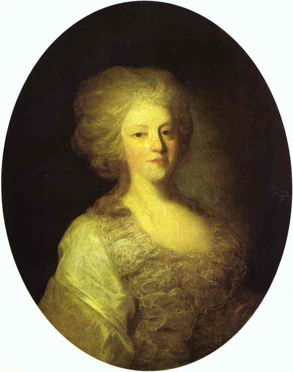Portrait of Praskovya Nikolayevna Lanskaya, 1790