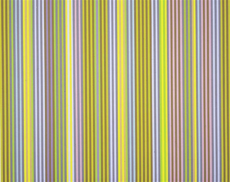 Black Popcorn, 1969 - Gene Davis