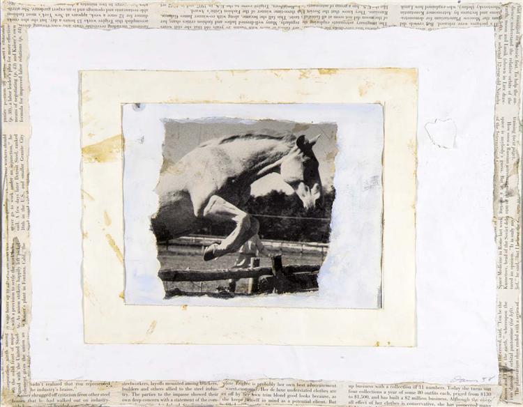 Leaping Horse, 1958 - Gene Davis