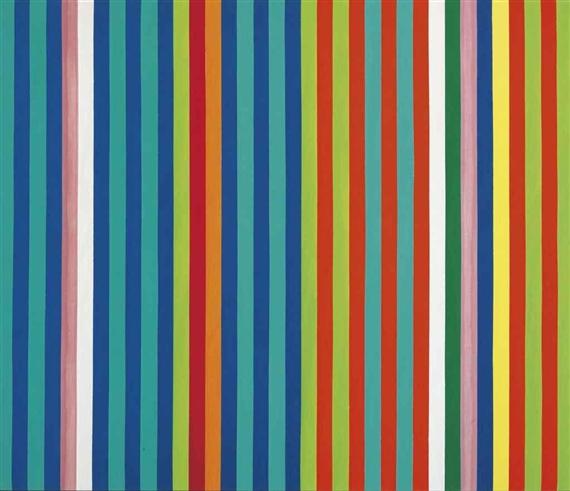 Orange Twitter, 1966 - Gene Davis
