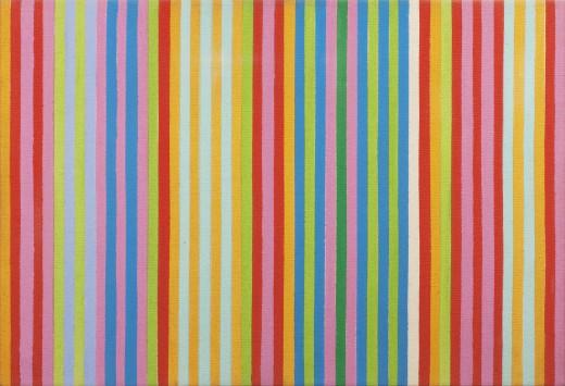 Red Chatterbox, 1967 - Gene Davis