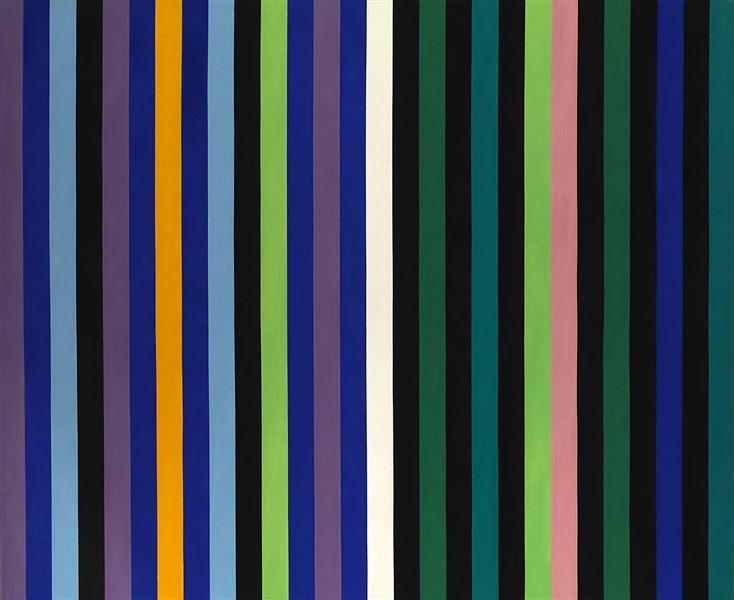 Two Part Blue, 1964 - Gene Davis
