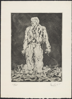 The Herder, 1965 - Georg Baselitz