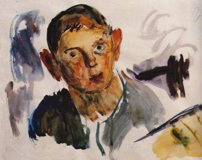 Portrait of a boy, 1931