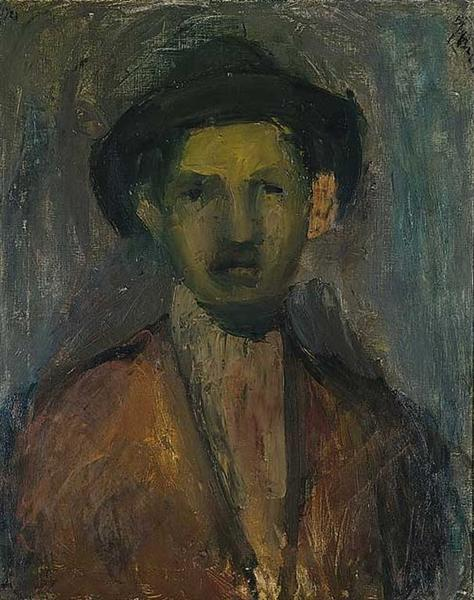 Portrait of the Painter Waldmulle, 1923 - George Bouzianis