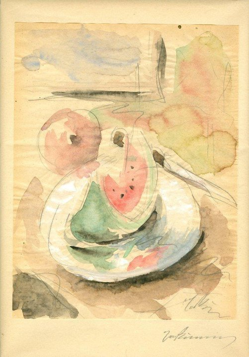 Still Life with Watermelon, 1929-1932