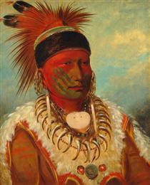 The White Cloud, Head Chief of the Iowa - Джордж Кетлін