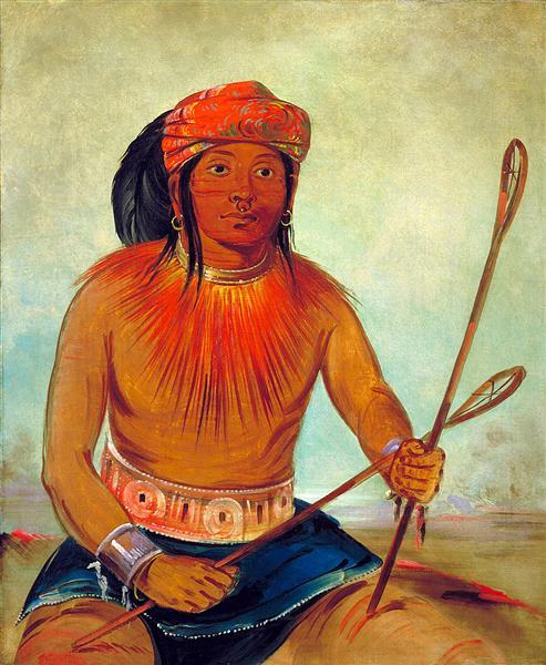 Tul-lock-chísh-ko, Drinks the Juice of the Stone (Choctaw), 1834 - George Catlin