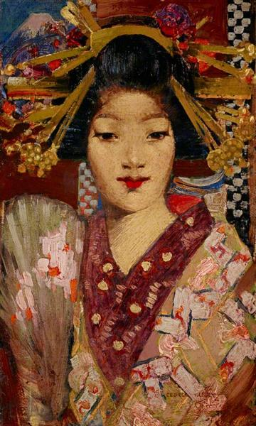 Geisha Girl - George Henry