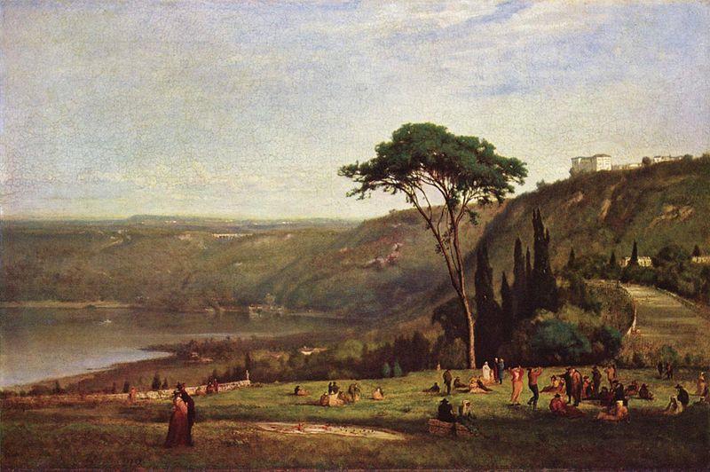 Lake Albano, 1869