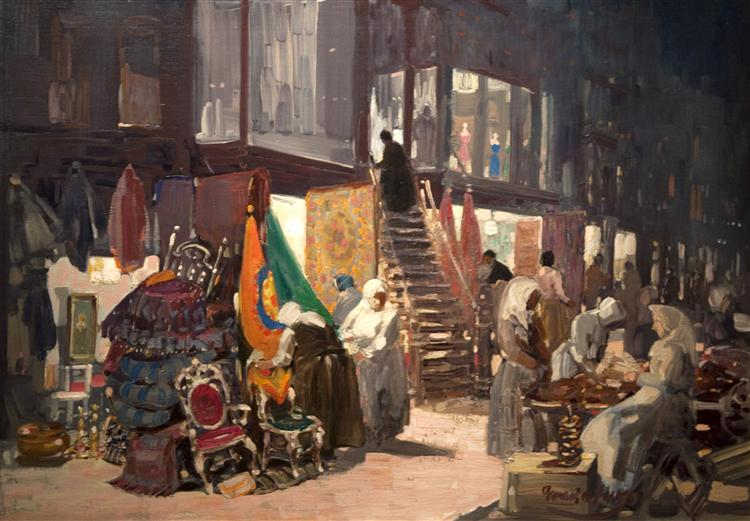 Allen Street, 1905 - George Benjamin Luks