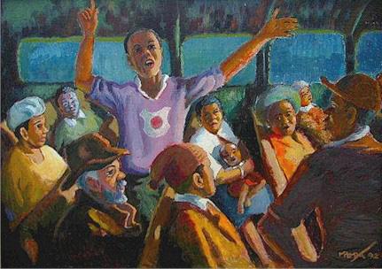 The activist, 1992 - George Pemba