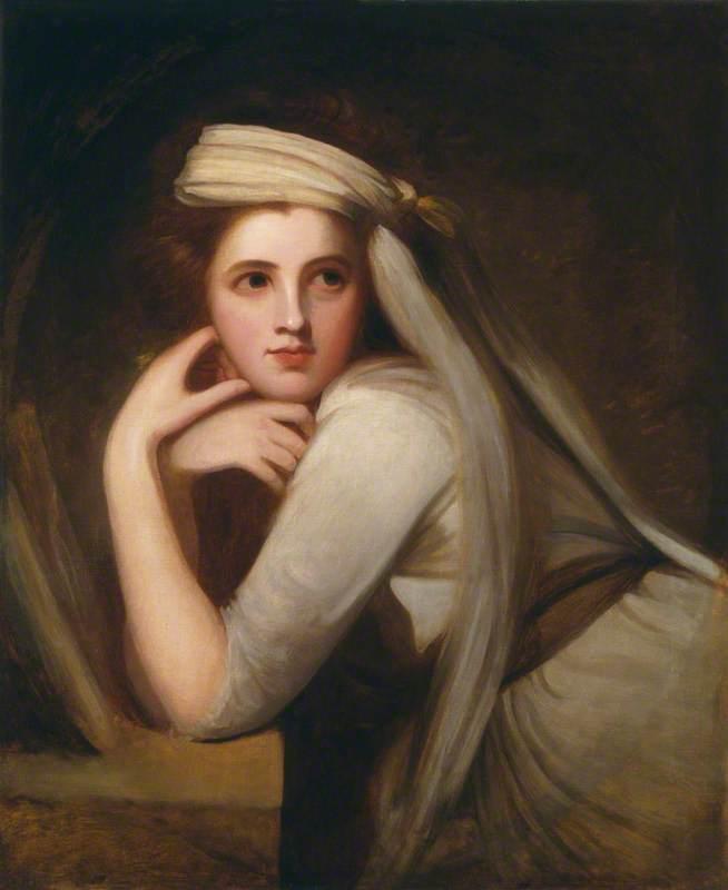Emma, Lady Hamilton - George Romney - WikiArt.org
