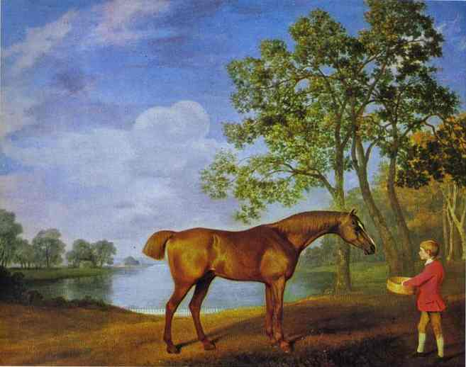 Pumpkin with a Stable Lad, 1774 - George Stubbs